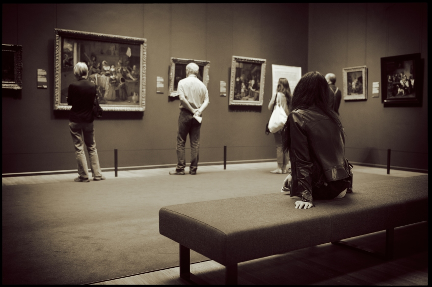 Girl in the Gallery